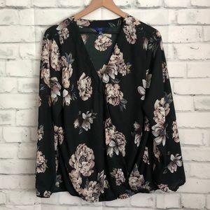 Apt. 9 floral blouse